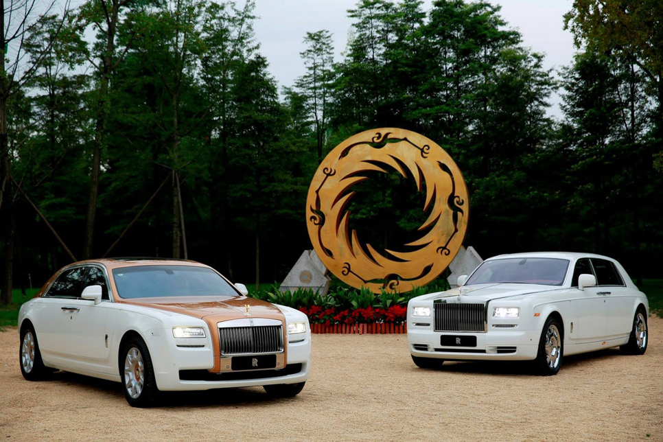 Rolls-Royce Ghost Chengdu Golden Sun Bird Edition