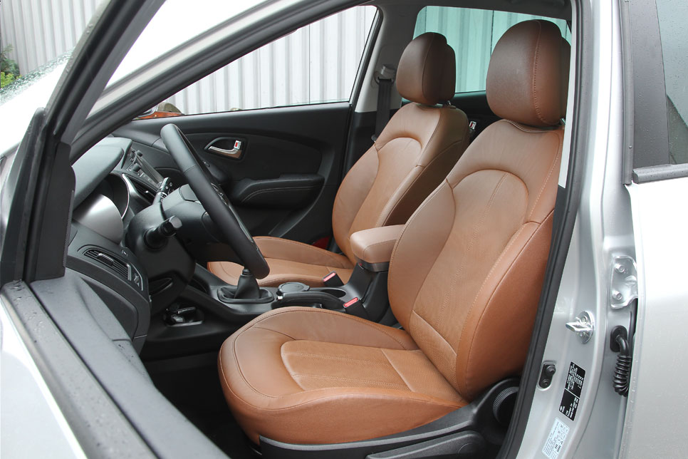 Hyundai ix35, mejorando lo presente