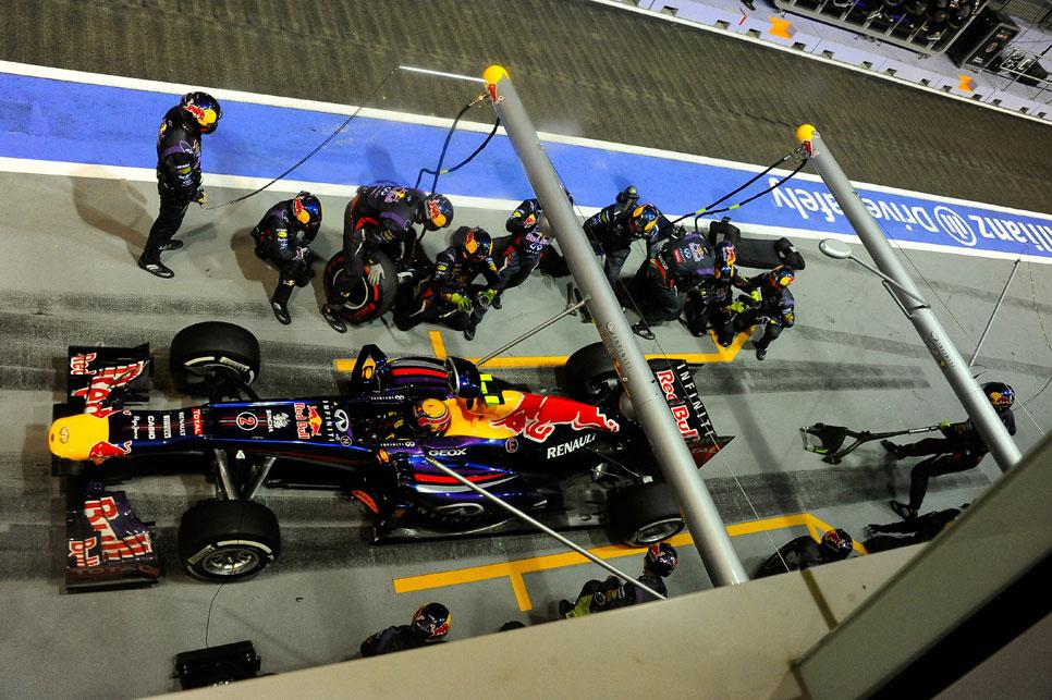 GP Singapur: la carrera