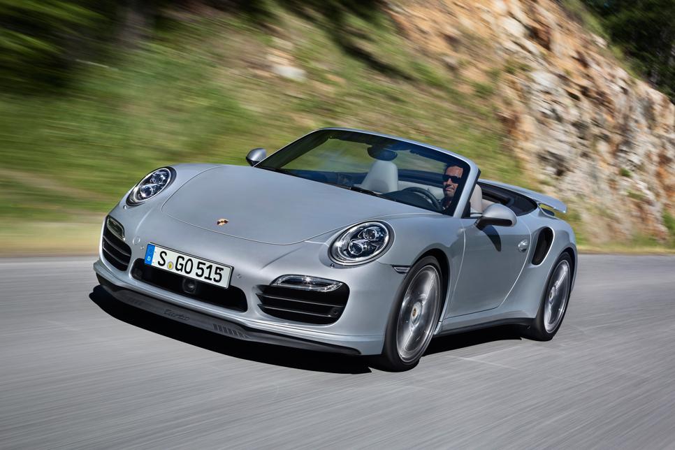 Nuevo Porsche 911 Turbo Cabrio