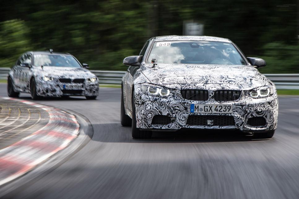 Nuevo motor para BMW M3 y M4