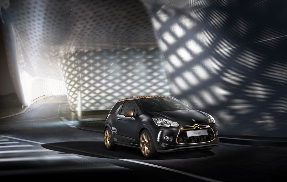 Citroën DS3 Racing Gold Mat