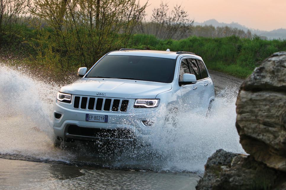 Prueba del Jeep Grand Cherokee 2014