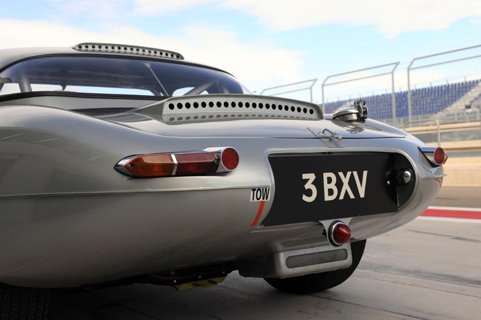 Jaguar E-Type 3.8, una joya clásica