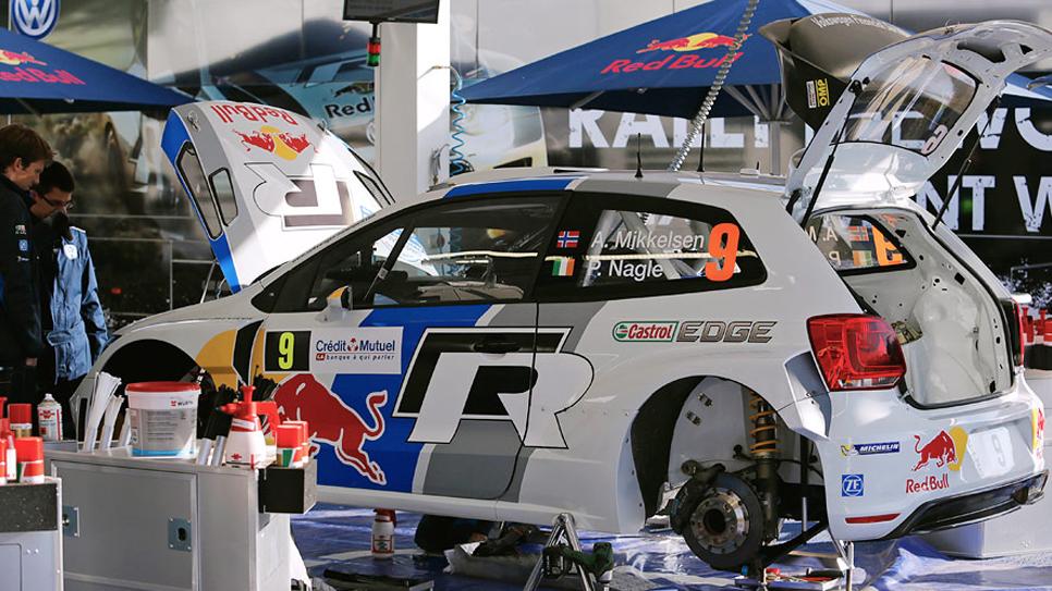 Rallye Francia: etapa del viernes