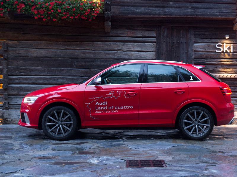 Audi RS Q3, toma de contacto