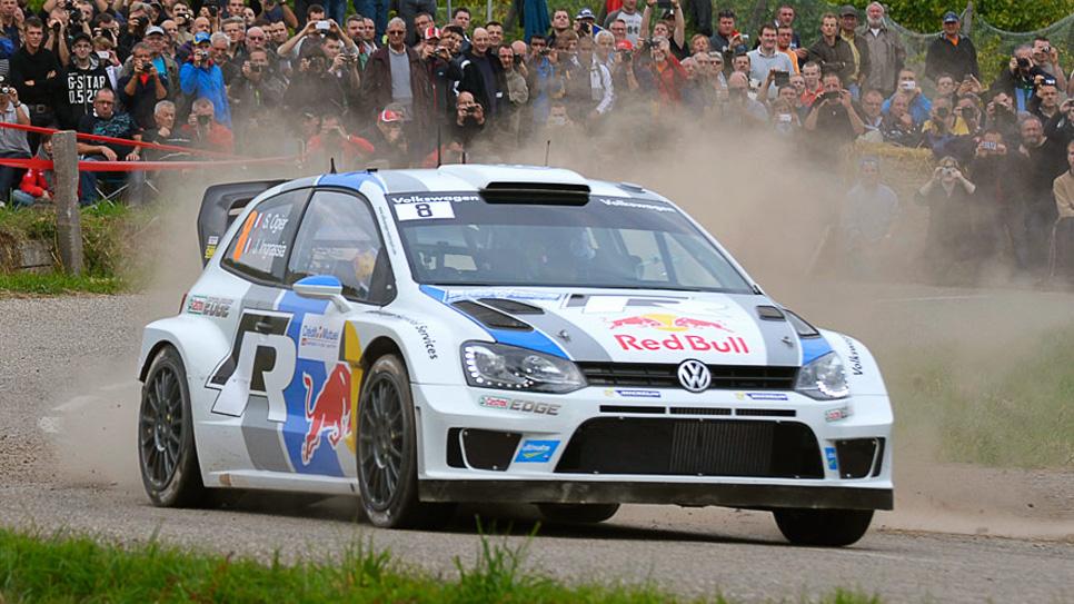 Rallye Francia: etapa del sábado