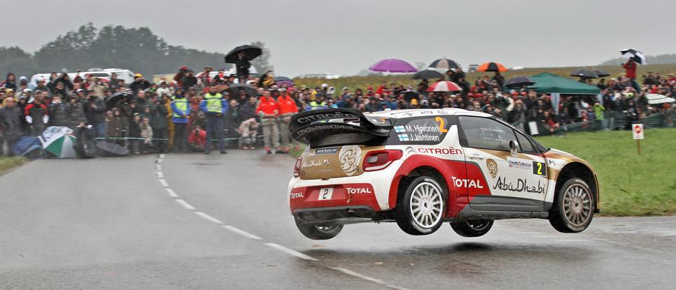Rallye Francia: etapa del domingo