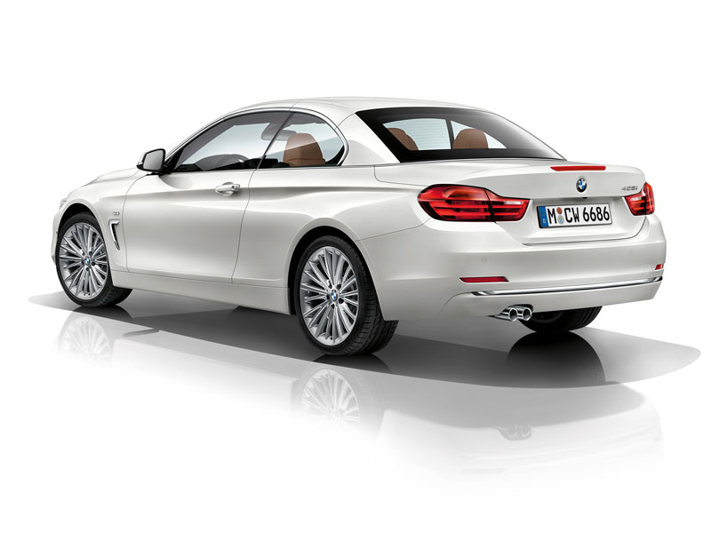 BMW Serie 4 Cabrio, fotos del coche