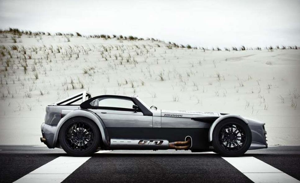 Donkervoort D8 GTO, deportivo artesanal