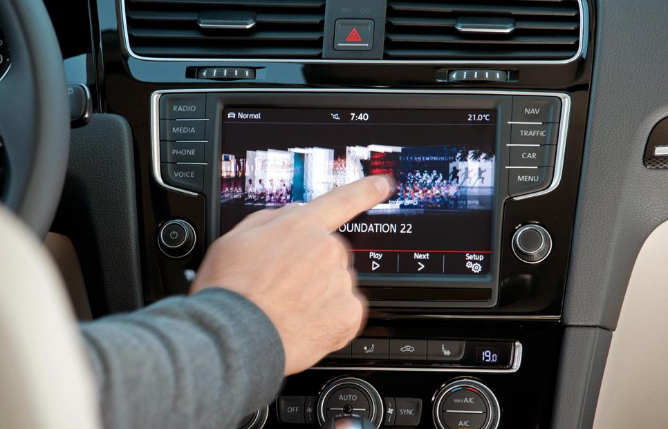 El VW Golf y Golf Variant, con Internet Car-Net