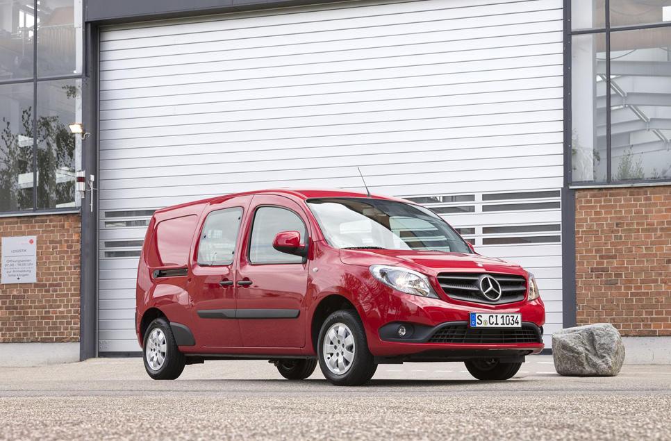 Mercedes Citan Crewbus y nuevos motores