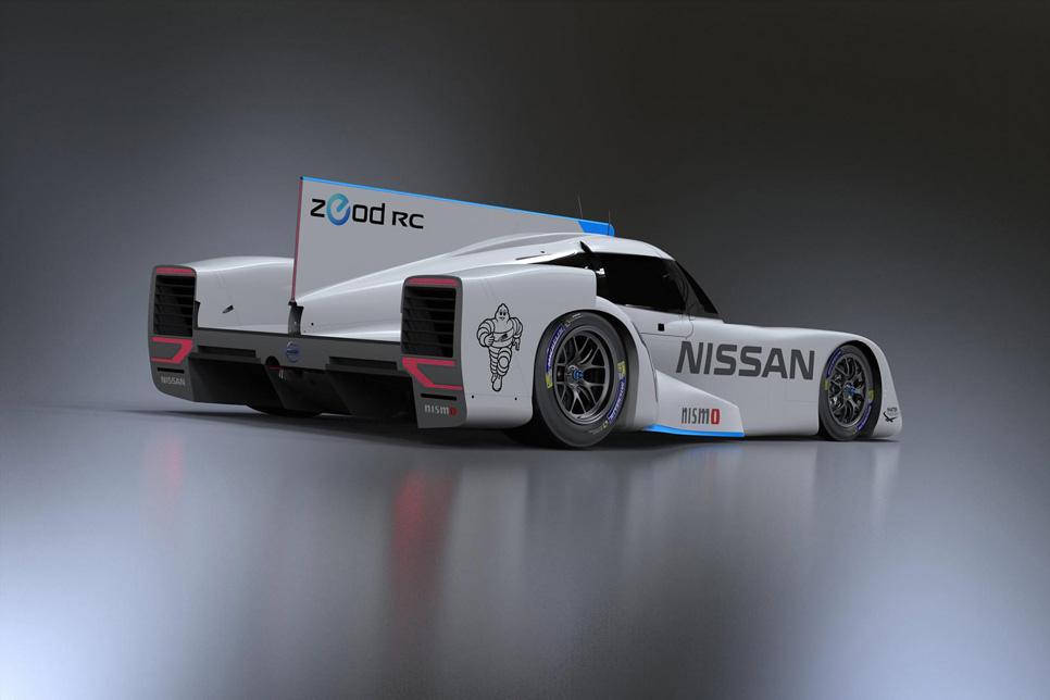 Nissan ZEOD RC, un rayo eléctrico