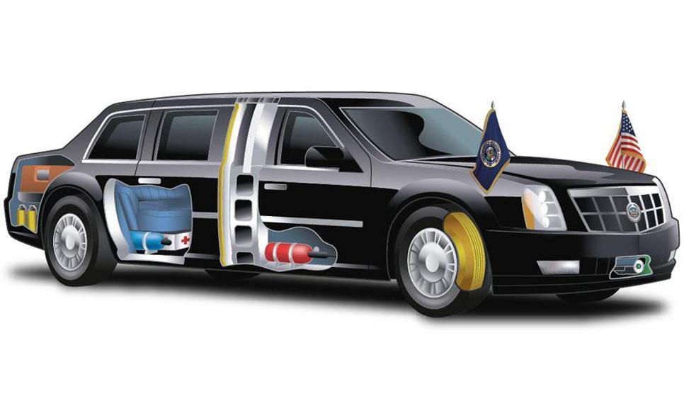 Vehículo oficial de Barack Obama