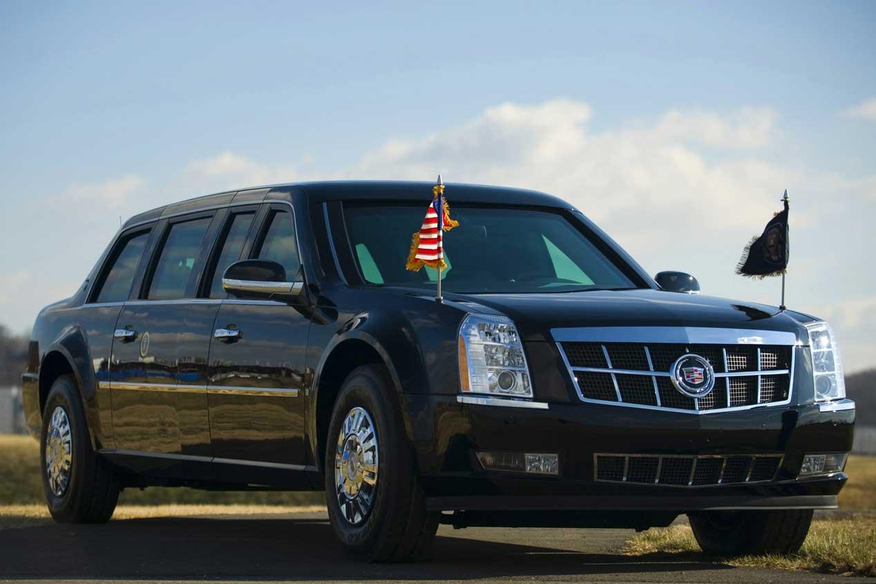 El vehículo oficial de Barack Obama, en imágenes