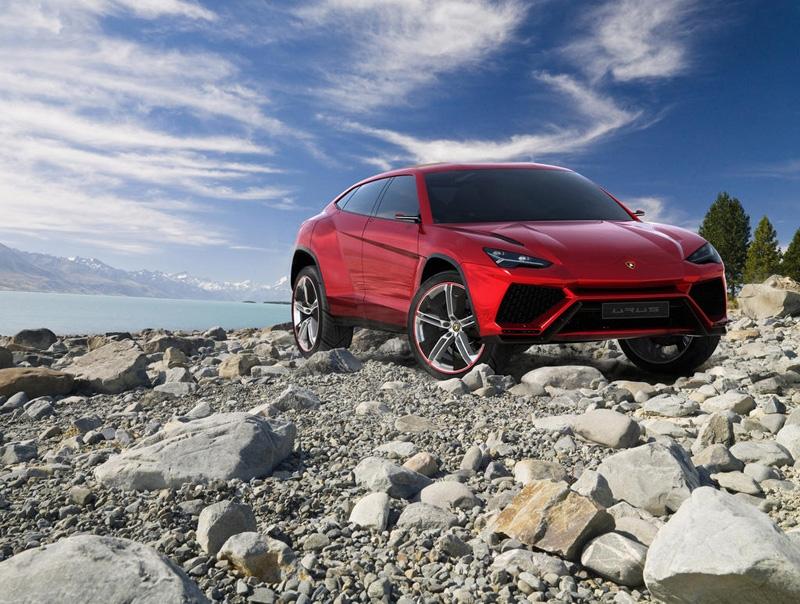 Lamborghini Urus, listo en 2017