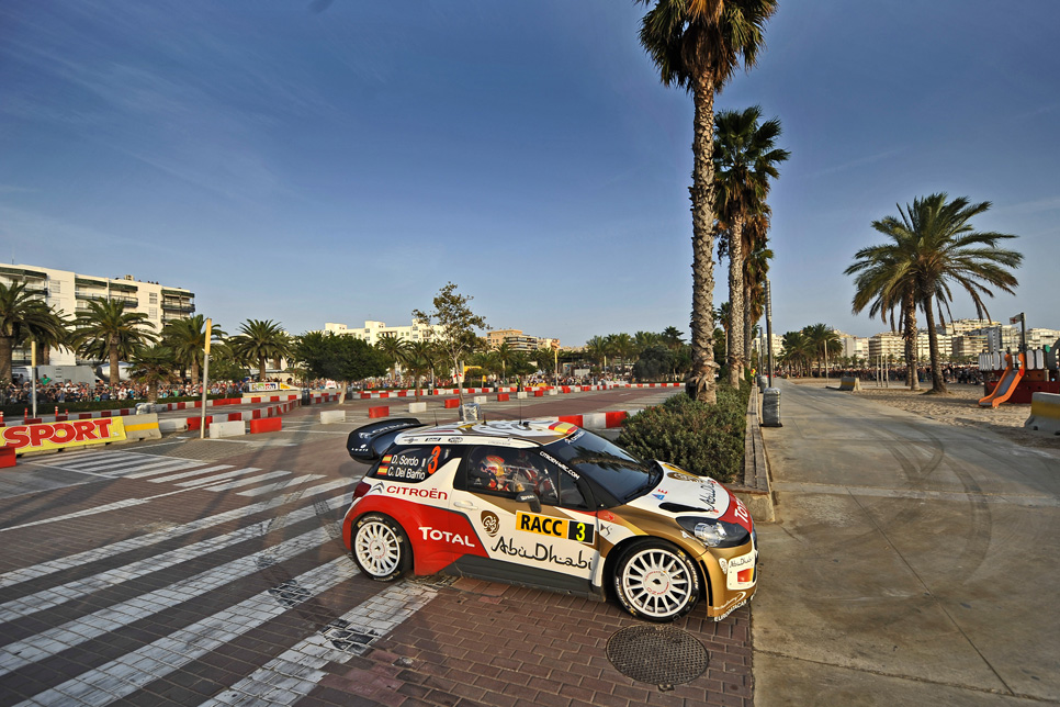 Rallye España: etapa del domingo