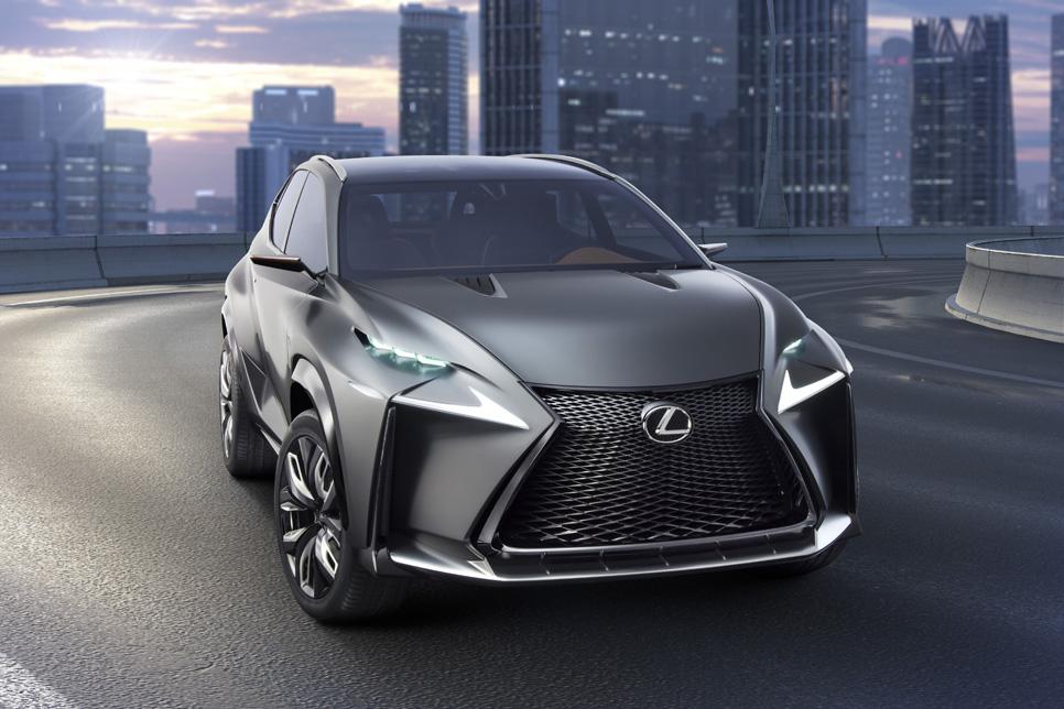 Lexus LF-NX Concept, SUV compacto