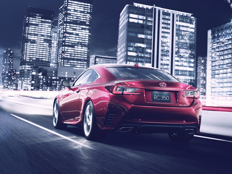 Nuevo Lexus RC, el Audi A5 japonés