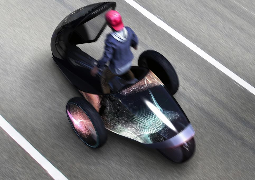 Toyota FV2: cambia de color según tu ánimo