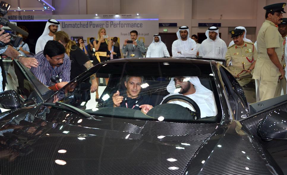 GTA Spano en Dubai 2013
