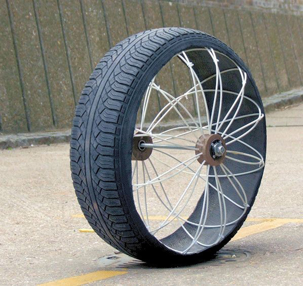 Roadless, la rueda todoterreno