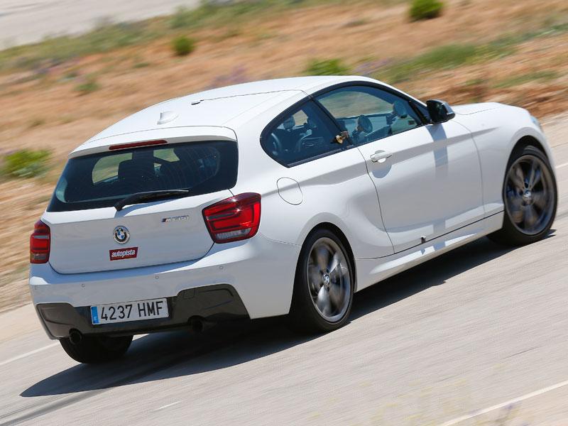 BMW m 135i, en circuito