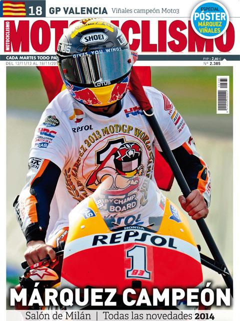 Márquez hace historia en MOTOCICLISMO