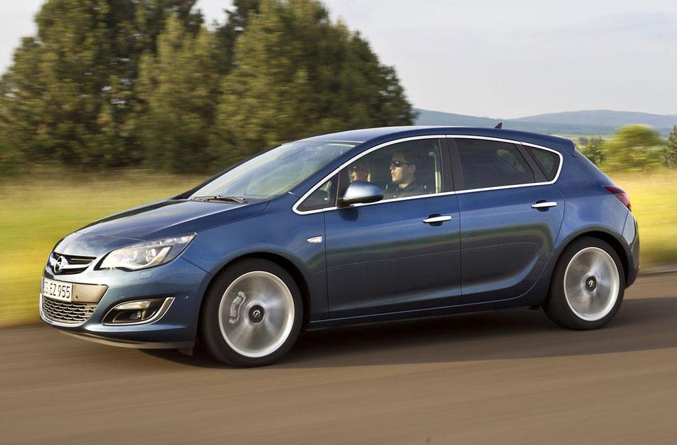 Nuevo Opel Astra 2014