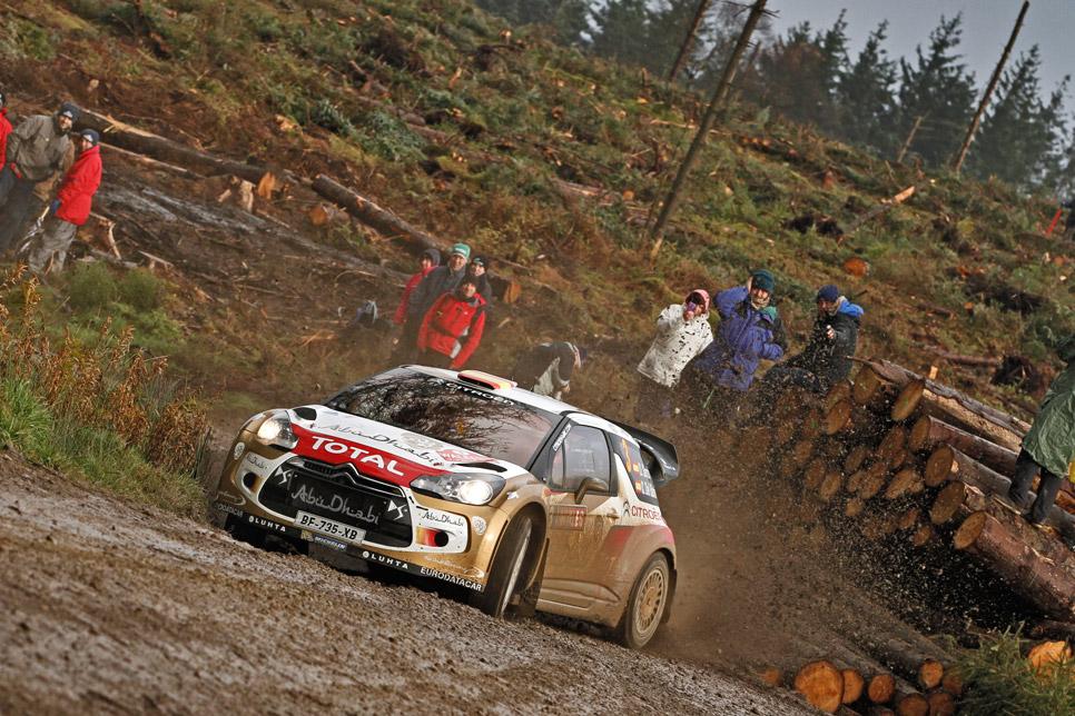 Rallye de Gales: viernes