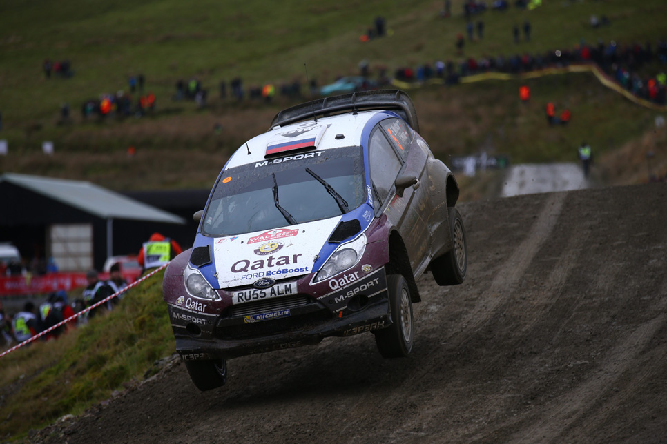 Rallye de Gales: sábado