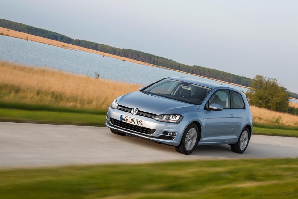 VW Golf TDI BlueMotion