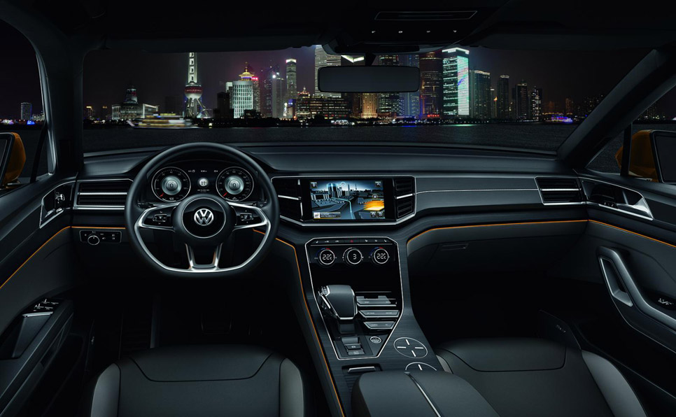 VW CrossBlue Coupé Concept
