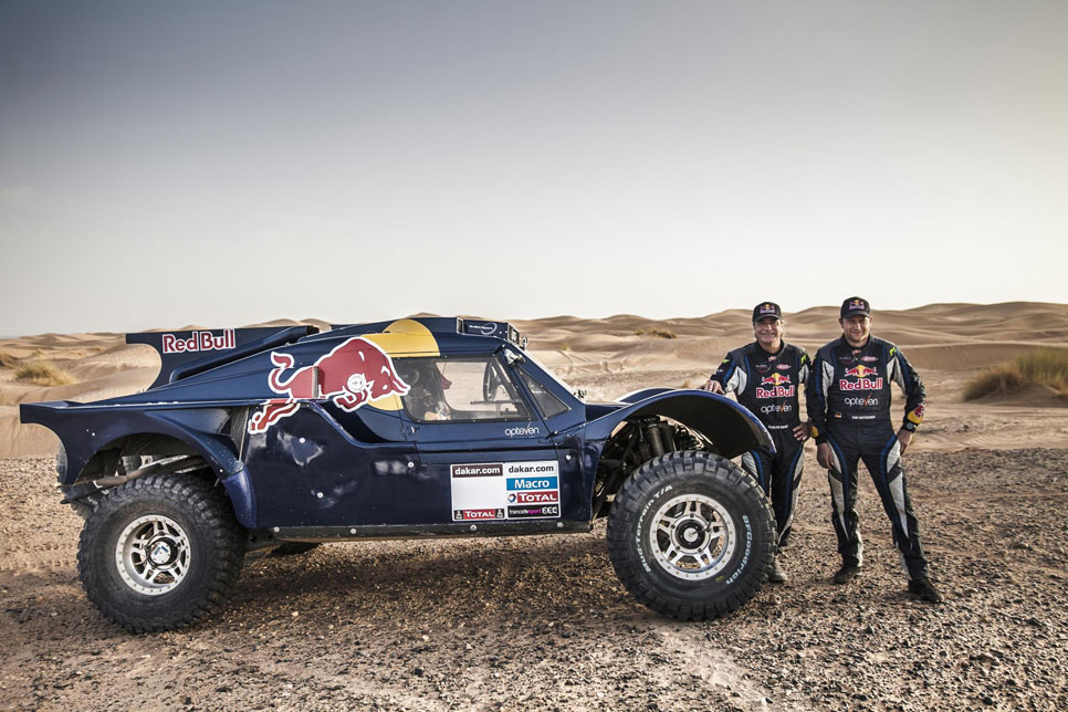 Buggy Red Bull SMG Rally Team