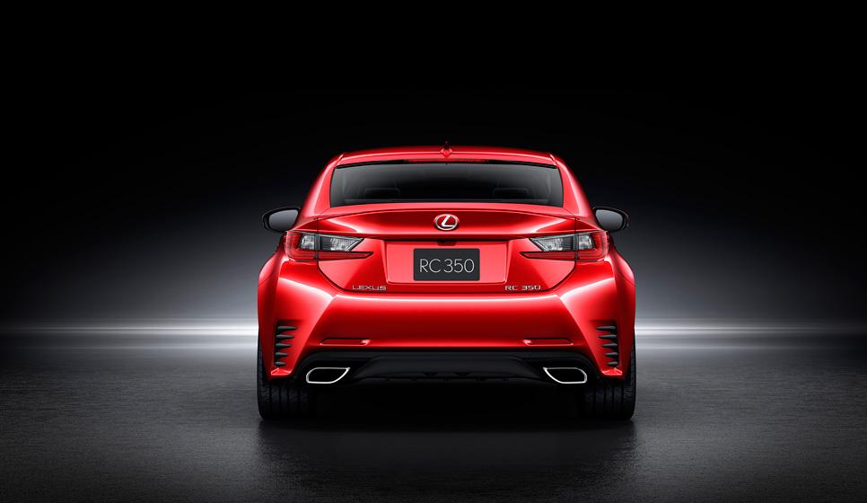 Lexus RC, impresionante coupé en Tokio