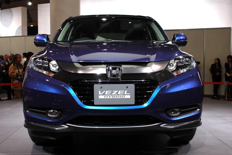 Honda Vezel, otro rival para el Juke