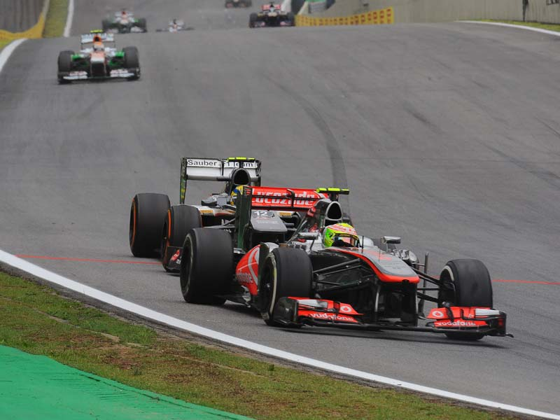 Gran Premio de Brasil Interlagos. Carrera