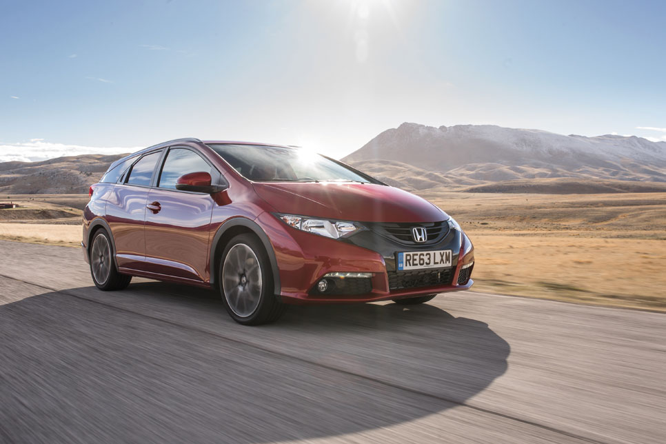 Honda Civic Tourer, familiar de vanguardia