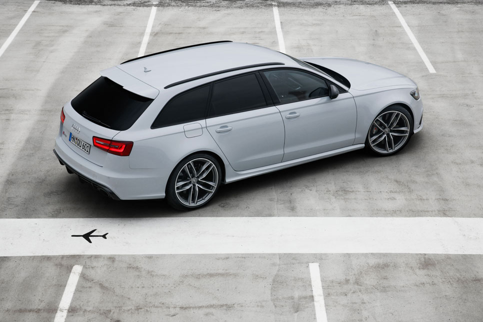 Audi RS6 Avant de Cristiano Ronaldo