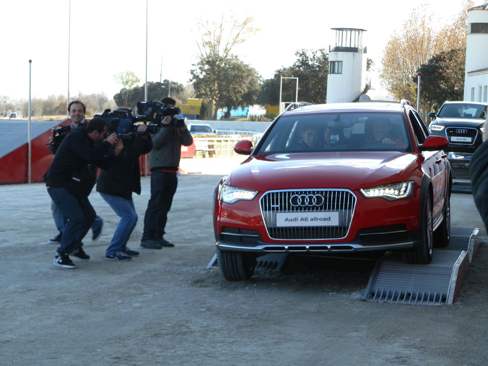 Audi entrega los coches al Real Madrid: todas las fotos