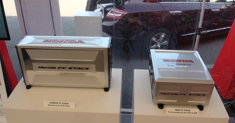Tercera generación de pila de combustible Honda