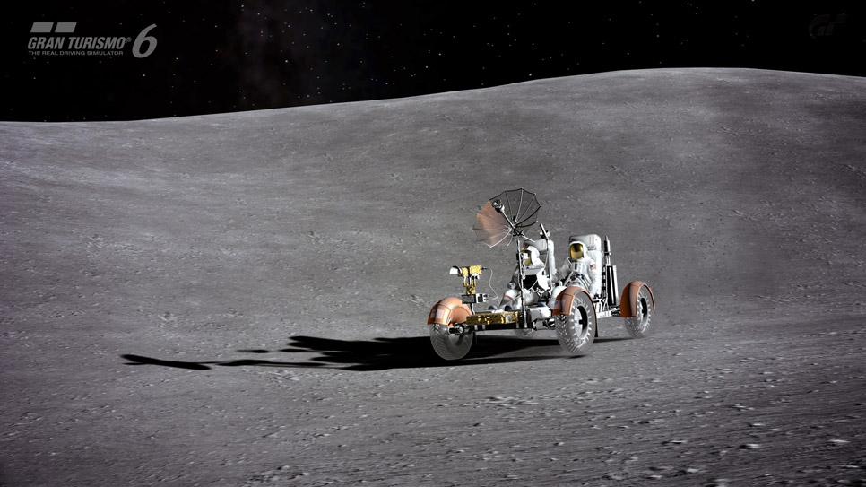 El coche lunar