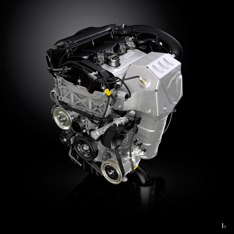 Nuevo motor Peugeot RCZ R