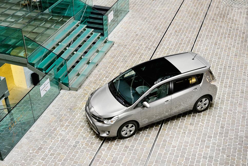 Toyota Verso 1.6 D-4D, con motor BMW