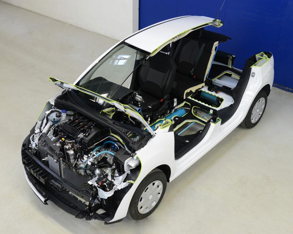 Peugeot 208 HybridAir, llega el aire comprimido