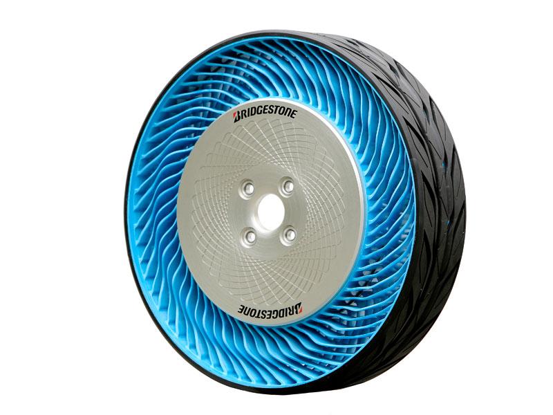 Bridgestone: neumático sin aire