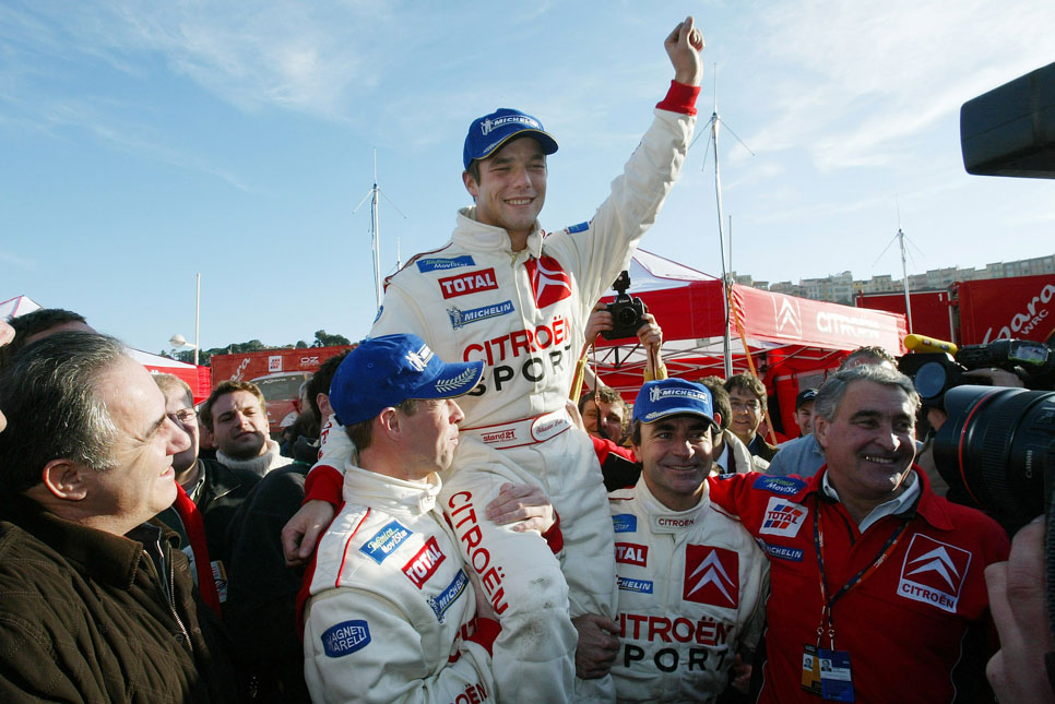 Los diez mejores pilotos de la historia del WRC