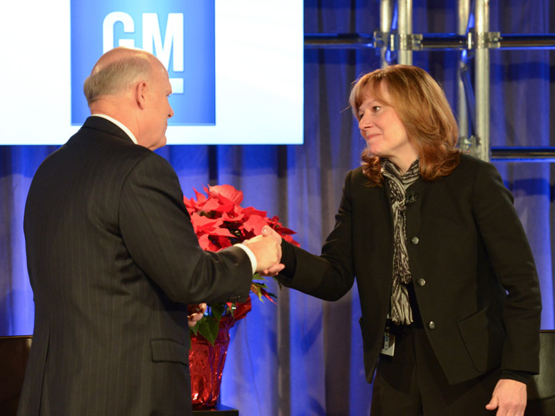 Mary Barra, nueva presidenta de GM