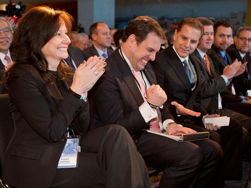 Mary Barra, nueva presidenta de GM