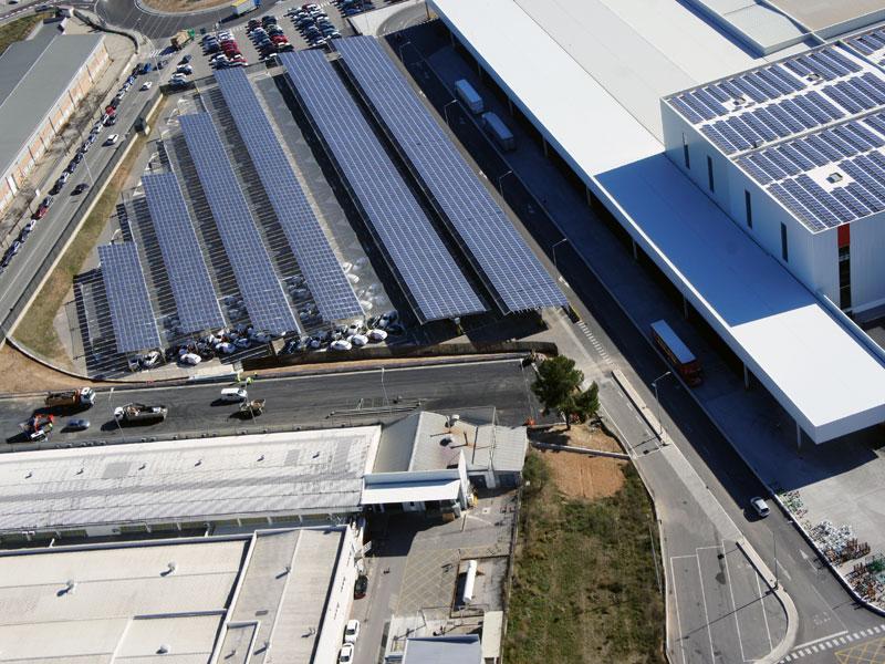 La mayor planta solar de la industria mundial del automóvil es de Seat
